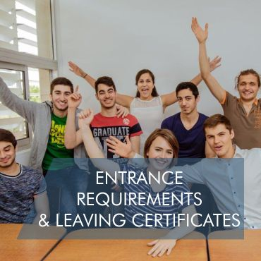 Entrance Requirements and Leaving Certificates