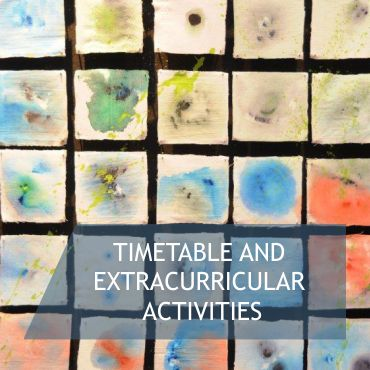 Timetable and Extracurricular Activities